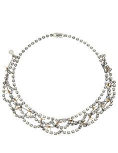 Crystal Barricade Babe Necklace   Tom Binns   Avenue32 Tom Binns, Toms, Babe, Crystals, Diamond, Jewelry, Fashion, Moda, Jewlery