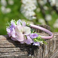Čelenka do vlasov / Hydrangea - SAShE. Plants, Plant, Planets
