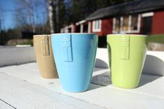 Archipelago mugs- ResGladh collection. Made by Malva Krukmakeri in Roslagen, Sweden.