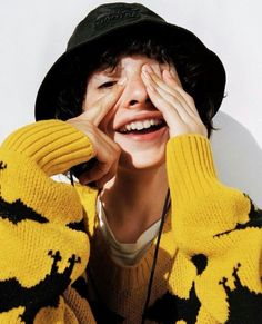Image result for yellow finn wolfhard