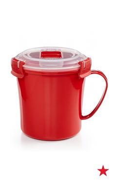 Take your favorite seasonal soups to the office without a spill thanks to Martha Stewart's Soup-to-Go portable container