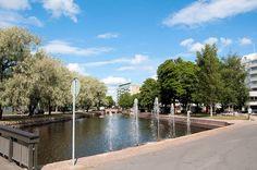 Rauman kanaali English: Canal in Rauma