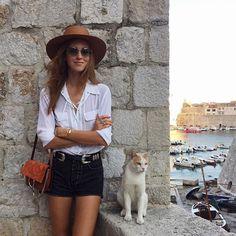 Chiara Ferragni @chiaraferragni Visiting Dubrovni...Instagram photo | Websta…