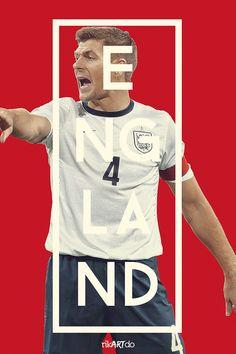 Inglaterra / England - Afiche para la Copa Mundo Brasil 2014 FIFA - Poster to the 2014 FIFA World Cup in Brazil