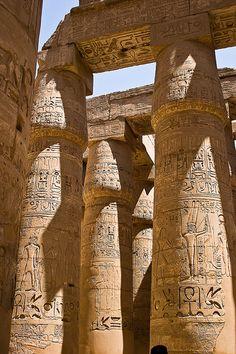 Egypt Karnak por dukelander