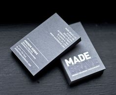 35 Cool Business Cards To Inspire You | Design Inspiration