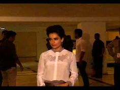 Kangana Ranaut at Karan Johar's 42nd Birthday Party.