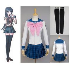 Danganronpa Dangan-Ronpa Sayaka Maizono Dress Cosplay Costume