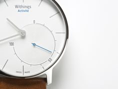 Zegarek Withings Activité Wearable Device, Wearable Technology, Technology News, How To Look Better, Luxury Watches, Rolex Watches, Watch 2, Apple Watch, Fitness Watch