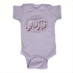 Baby Girl Onesie - Purple Hotsy Totsy Black Friday sale