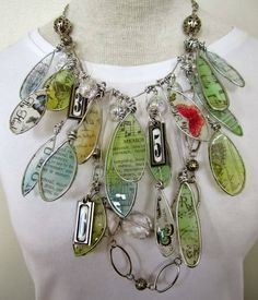 Make Your Own Faux Stained Glass Jewelery & Pendants..