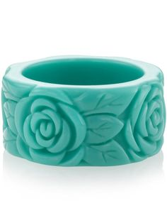 Carved Flower Band at Accessorize (this ring reminds me of soap carving :D)