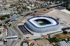Estadio Allianz Riviera del Nice con capacidad para 35624 espectadores.
