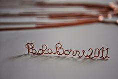 My signature 2011 Filo di rame modellato Paola Borri - Google+