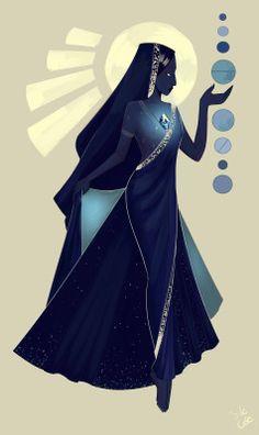 My art SU steven universe Blue Diamond homeworld gems it could've been great