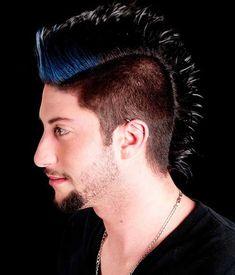 Gute Frisuren    Männer Mohawk Frisur