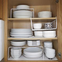 Tiny Home Kitchen Organization , Organized White Dishes. Tiny Home Kitchen Organization , Organized White Dishes. Tiny Home Kitchen Organization , Small Bathroom Organization, Kitchen Cabinet Organization, Cabinet Ideas, Bathroom Ideas, Apartment Kitchen Organization, Cupboard Ideas, Bathroom Interior, Organization Ideas For The Home, Kitchen Cupboard Storage