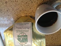 My favorite coffee. Of all time. Food N, The Hamptons, All About Time, Period, Roast, Organic, Coffee, Tableware, Kaffee