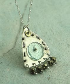 Relic Necklace  in sterling silver with Roman by KathrynRiechert, $68.00