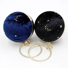 Starry Sky Round Suede Clutch Bags 2020 Metal Rhinestone Star Embroidered Cluch Bag, Azul Real, Free Crochet Bag, Wedding Jewelry Sets, Casual Bags, Luxury Bags, Color Negra, Handmade Bags, Evening Bags