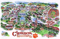 Clemson University is not on my list because we're raised that way in the south... lol family picks a team you pick a school... but who's to say it won't be on her list. I loved the area when we recently visited.