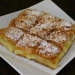 Page not found - Daddy-Cool. Greek Sweets, Greek Desserts, Greek Recipes, Desert Recipes, Sweet Buns, Sweet Pie, Bougatsa Recipe, Recipes Using Puff Pastry, Cookbook Recipes