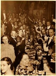 Ballets Russes New Year's Eve, 1920s.