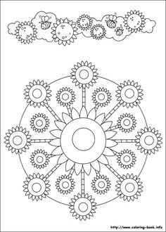 Mandalas 045 Coloring Page For Kids And Adults From Other Pages Painting