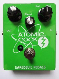 Atomic Cock Fuzz Pedal - Daredevil Fuzz Guitar Pedals