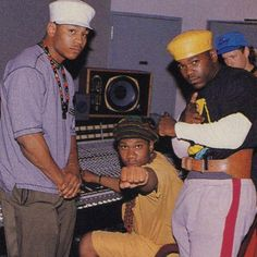 LL Cool J, KRS-One and Just-ICE *repin by Hip Hop Fusion