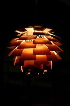 Artichoke Light By Poul Henningson  Amazing original Artichoke hanging light designed by Poul Henningsen for Louis Poulsen, Denmark. 60cm diam