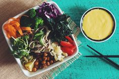 the buddha bowl   RECIPE on hotforfoodblog.com