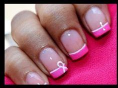 Breast+Cancer+Nails+Art+Designs+2012--+Awareness+Ribbon+Nail+Polish+Tutorial+no+decals+or+stickers