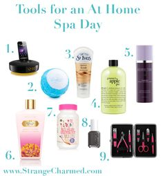 How to have an At Home Spa Day!