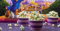 Wonder Popcorn: A Wonder Park Inspired Recipe Sweets Recipes, New Recipes, Creative Girl Names, Food Park, Pop Popcorn, Kettle Corn, Create A Recipe, Family Movie Night, Color Palate