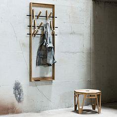 Coat Frame by We Do Wood | MONOQI #bestofdesign
