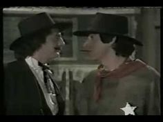 "SCTV, 3/24/77 - ""A Fistful of Ugly"" - Parody of every Sergio Leone Western. Harold Ramis, Dave Thomas, Eugene Levy, Andrea Martin, Joe Flaherty, Joe Candy"