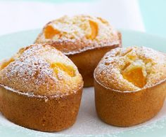 The best Peach Friands recipe you will ever find. Welcome to RecipesPlus, your premier destination for delicious and dreamy food inspiration. Tea Cakes, Mini Cakes, Cupcake Cakes, Sweet Recipes, Cake Recipes, Dessert Recipes, Healthy Recipes, Mini Desserts, Just Desserts