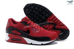 Nike Store For Air Max 90 Premium EM Mens Trainers Varsity Red Black