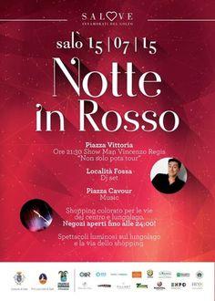 Notte in Rosso a Salò mercoledì 15 luglio 2015 @Gardaconcierge
