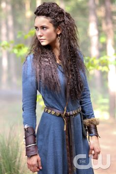 """The Originals -- """"Red Door"""" -- Image Number: OG205a_0599.jpg -- Pictured: Nina Dobrev as Tatia -- Photo: Annette Brown/The CW -- © 2014 The CW Network, LLC. All rights reserved.pn"""