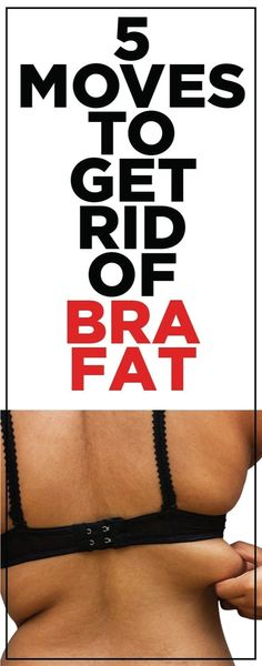 Bra fat is that unsightly bulge that forms when the elastic of your bra squeezes your torso. Don't worry, it doesn't mean you're out of shape or that you're overweight. In fact, the bulge is something that happens naturally when you tie elastics around any soft part of your body.