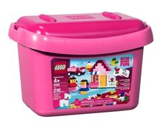 LEGO Pink Brick Box 5585 >>> Click image to review more details.