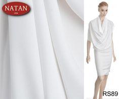 Tkanina bluzka sukienka Biała - Włoskie luksusowe tkaniny i dzianiny. Najnowsze trendy. Ponad 4000 wzorów i kolorów: wełna, jedwab, kaszmir, wiskoza, bawełna, satyna Trendy, Blouse, Long Sleeve, Sleeves, How To Make, Tops, Women, Fashion, Moda