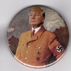 donald trump: Donald Trump Pin 2016 Political Pin 2016 Anti Trump Pin -> BUY IT NOW ONLY: $8.88 on eBay!