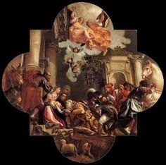 Adoration of the Magi -- Paolo Veronese 1582 Oil on canvas Basilica dei Santi Giovanni e Paolo, Venice