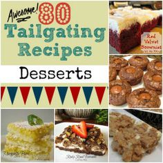 80 Awesome Tailgating Recipes Desserts