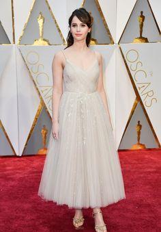 Branco e off-white reinam como tendência no red carpet do Oscar 2017