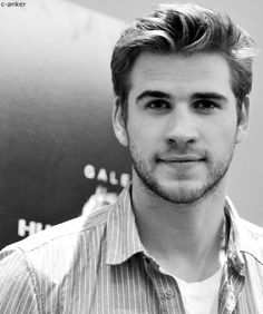 Liam Hemsworth, he looks through this phone right in my soul