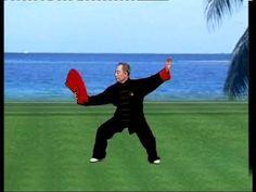 太極功夫扇 I part B Tai Chi Taiji Kung Fu Fan tutorial with English sub Qigong, Tai Chi, Kung Fu, Lunges, English, Exercise, Fan, Chinese, Youtube